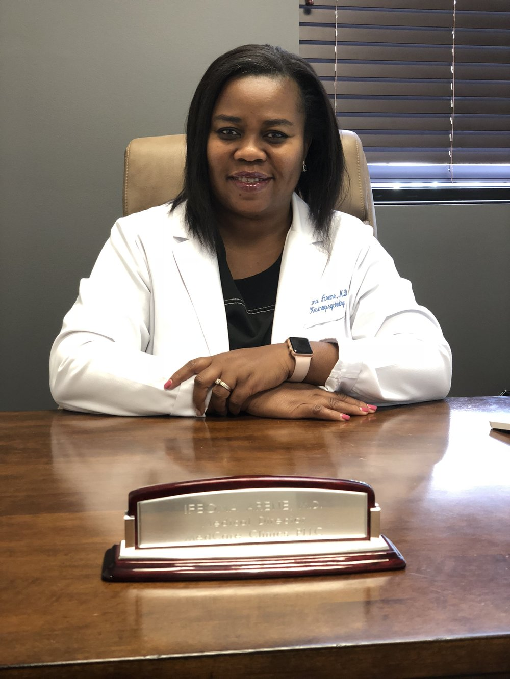 Ifeoma Arene - Dr. Arene is well known in the field of Psychiatry due to her experience, depth of knowledge and unique/approachable style of practice.