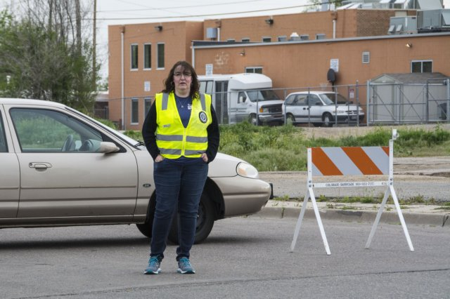 Colfax Marathon Traffic Control Volunteer
