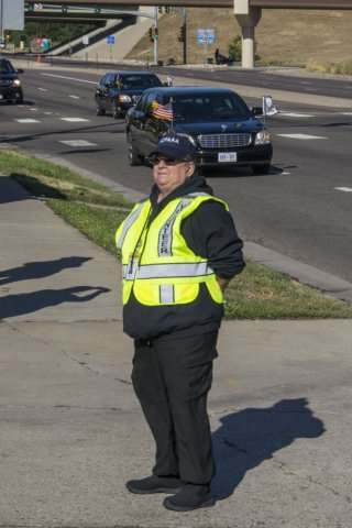 Vice Presidential Motorcade Traffic Control Volunteer