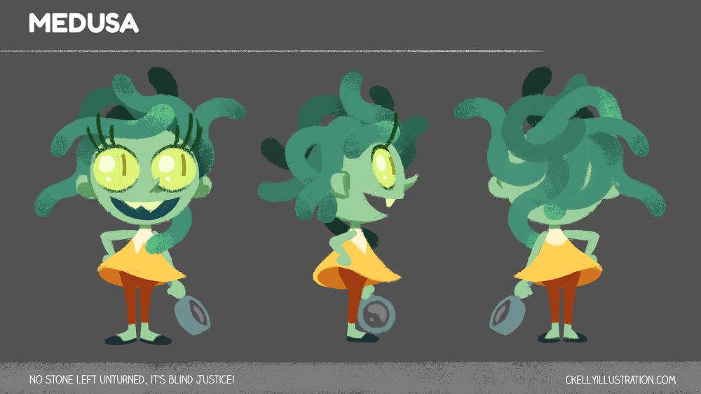 Personal character design work.