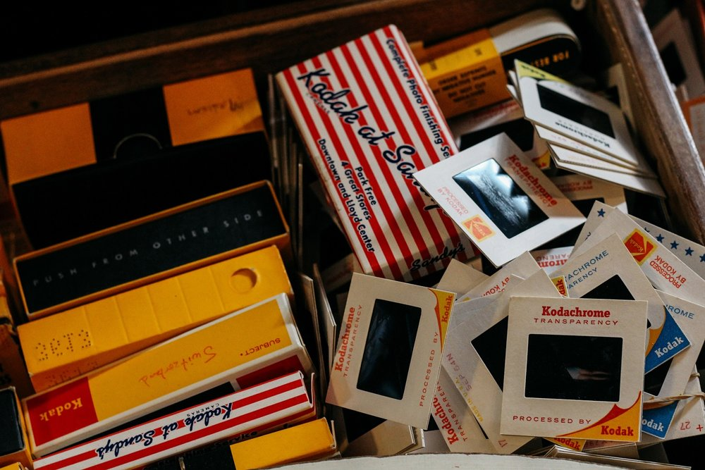 old photo slides and slide equipment.jpg