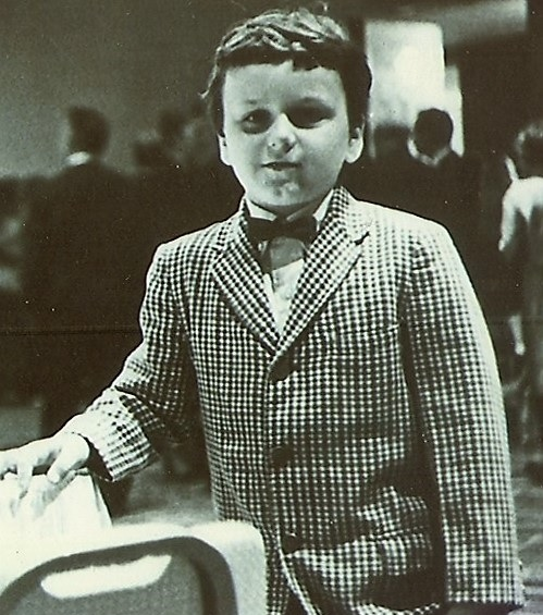 David as a little boy