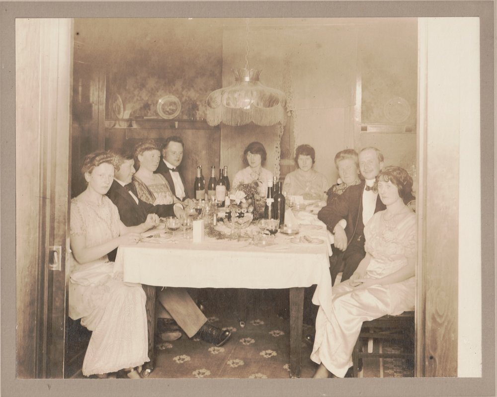 My husband's family in the early 1900s during more prosperous times.