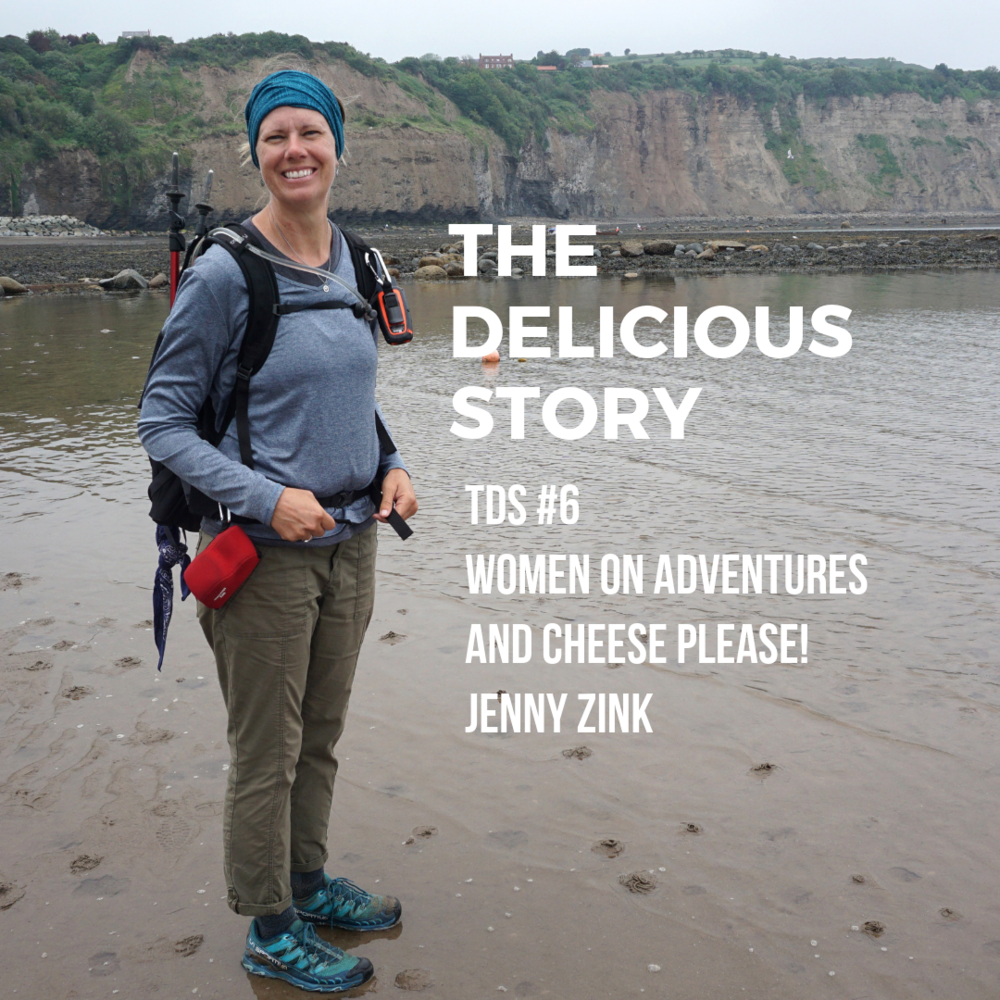Jenny Zink of Women On Adventures while on her coast to coast trek through England.