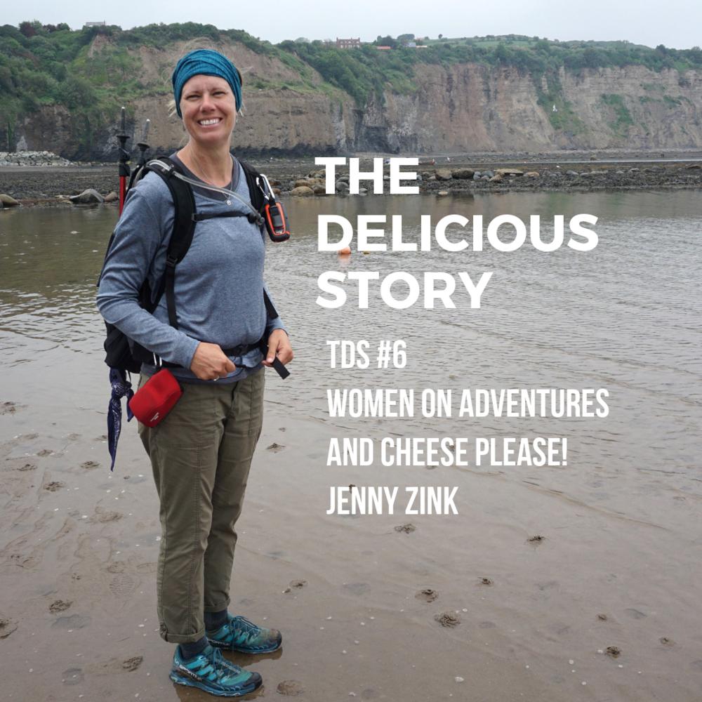 Jenny Zink of Women On Adventures while on her coast to coast trek through England.