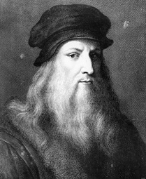 Self portrait of Leonard da Vinci