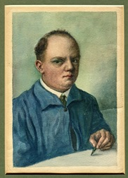 Karl Borzo: Grandfather, Painter