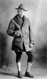 """Dough Boy,"" circa 1915      (Image from the private collection of David Ball, Public Domain)"