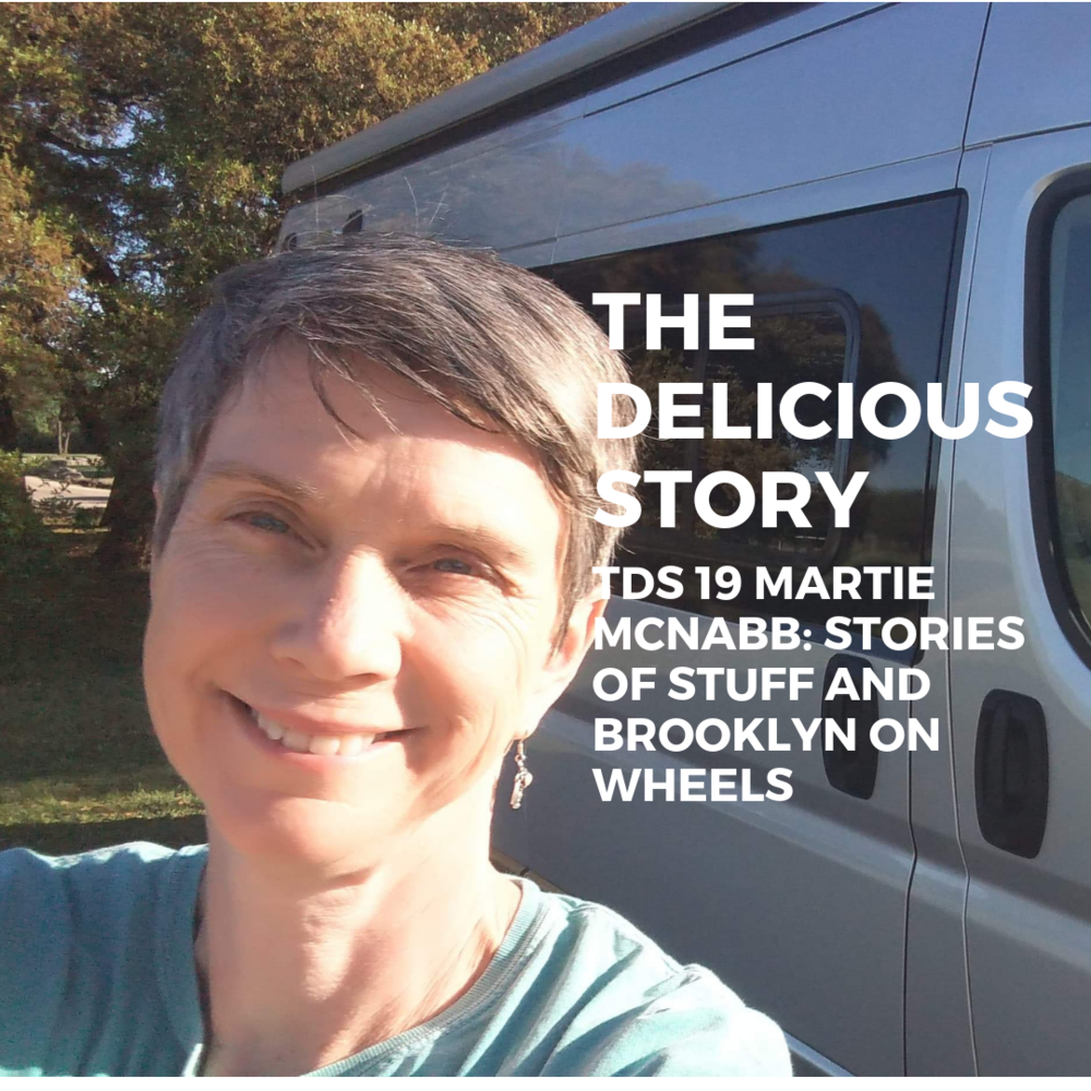 Martie McNabb on the road talking Show & Tale, Entertaining and more.