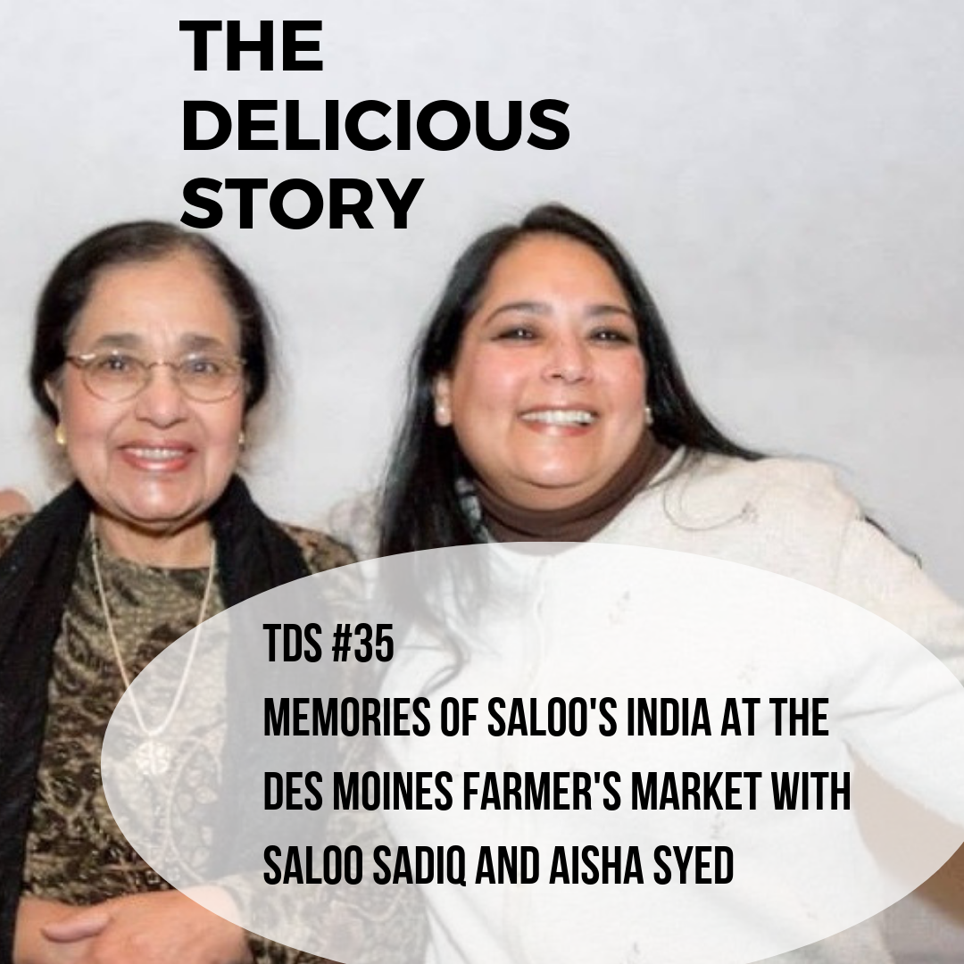 TDS 35 Memories of Saloo's India at the Des Moines Farmer's