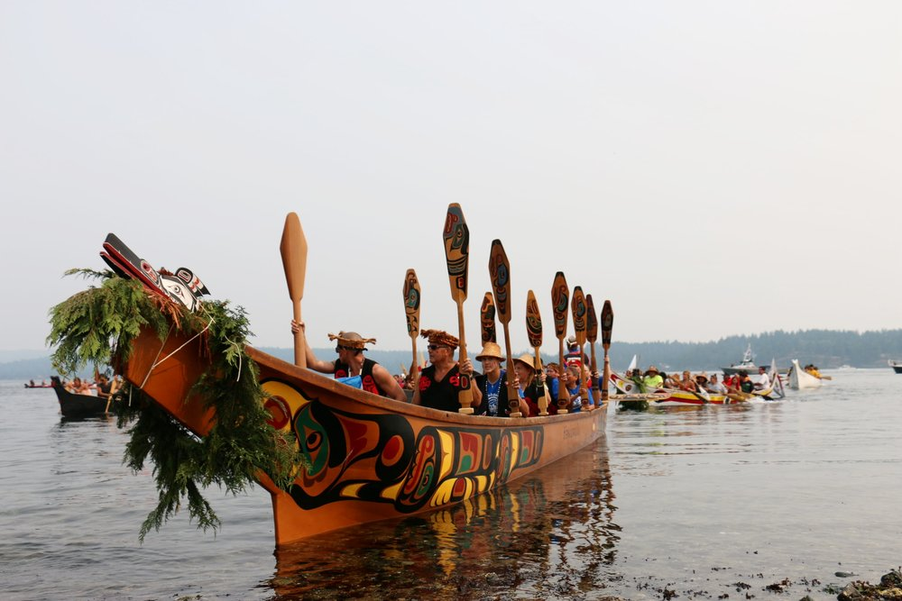 Wei Wai Kum Canoe
