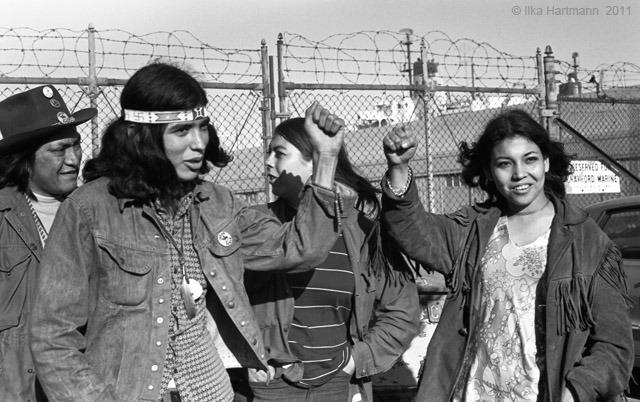 Defiant Young Alcatraz Occupiers
