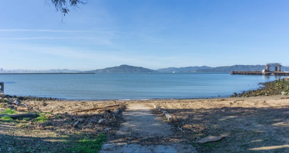 Beach at Ferry Point