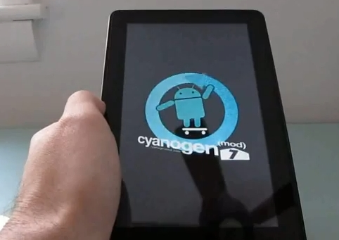 CyanogenMod7-kindle-fire