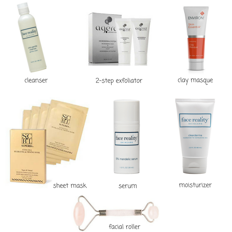 My favorite skincare products and tips for sunday self care routine