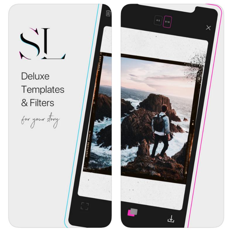 Storyluxe app