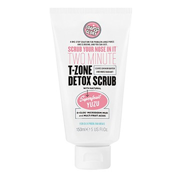 Soap & Glory Scrub Your Nose In It Two Minute T-Zone Detox Scrub | emma-elsewhere.com