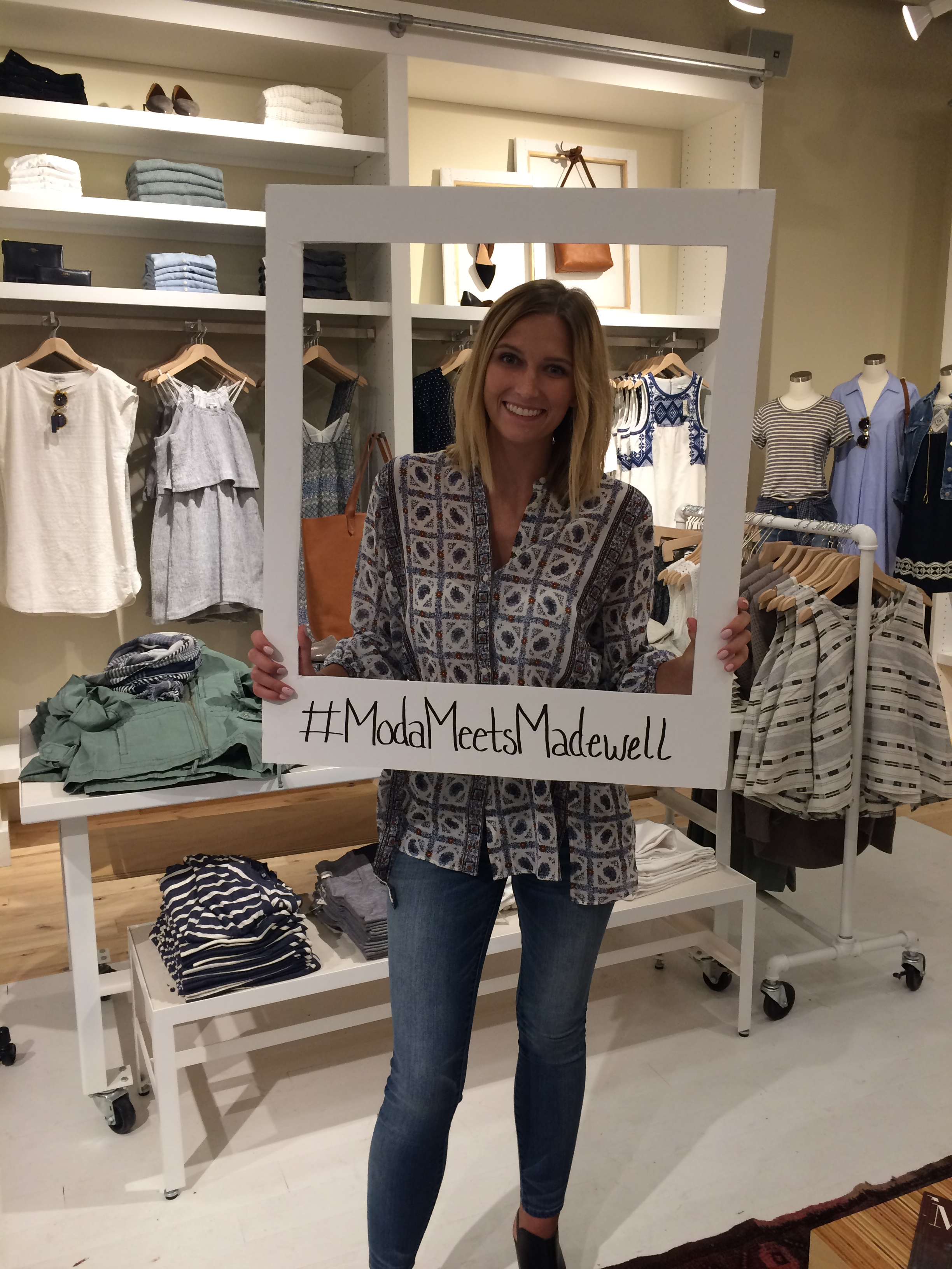 Emma at Madewell x Moda opening | emma-elsewhere.com