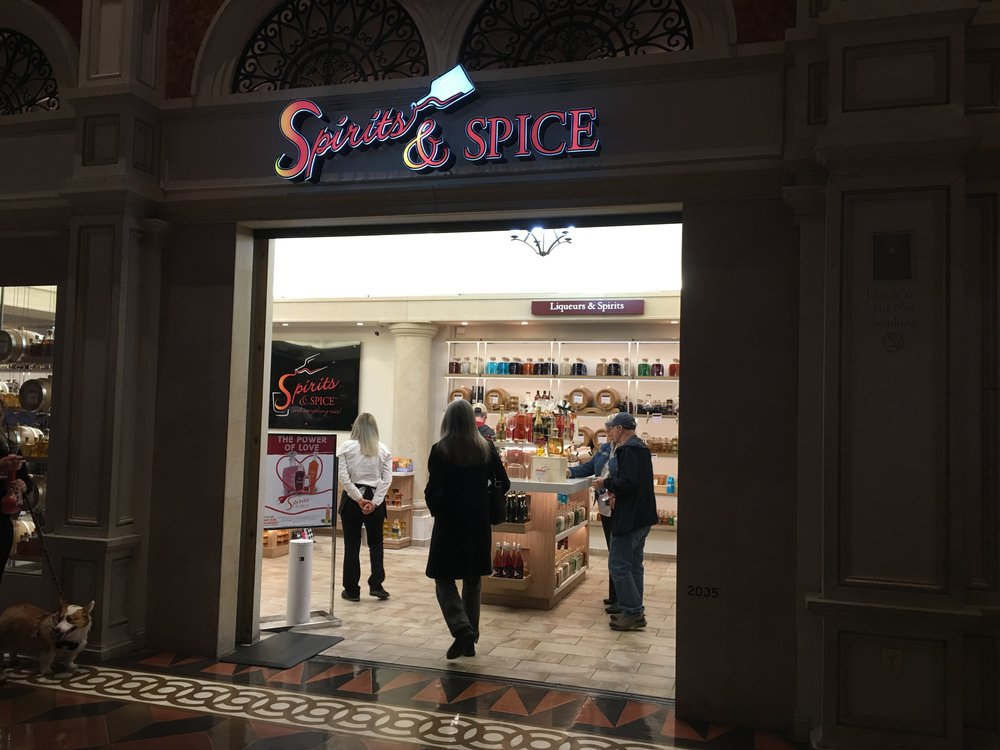NEVADA - Spirits & SpiceVenetian Grand Canal Shoppes3777 S. Las Vegas Blvd, Unit 2035Las Vegas, NV 89109(321) 800-5212www.spiritsandspice.com
