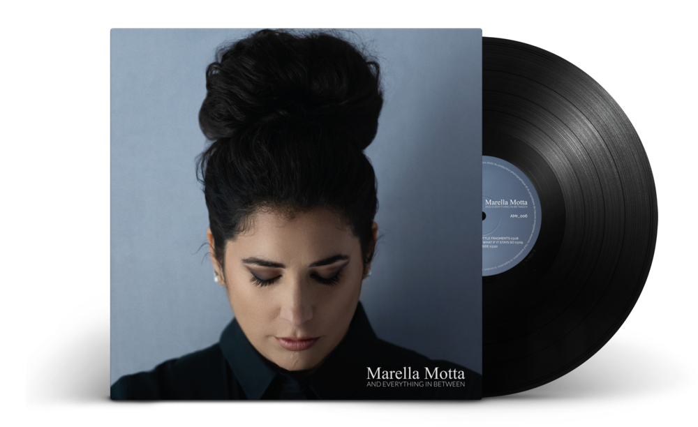 "Marella Motta's debut album ""And Everything in Between"" is OUT NOW""!   15.03.19"