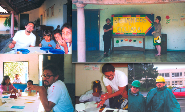 SF State-community art service in El Salvador