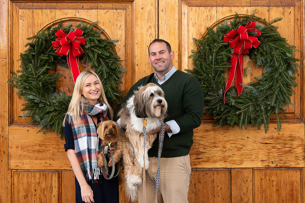Charleston Christmas Card Photos Mini Session by Reese Moore Photography