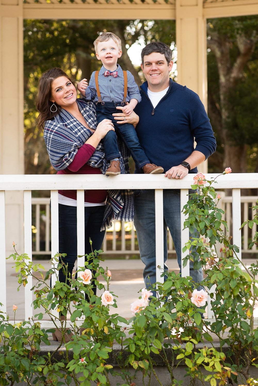 Hampton Park Family Portrait for Christmas Cards