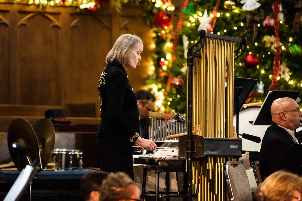 Charleston Community Band Christmas Concert by Reese Moore Photography