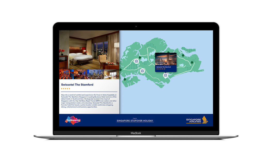 Desktop view of Singapore Airlines campaign case study