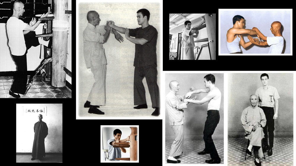 WING CHUN - (bruce lee and ip man training)