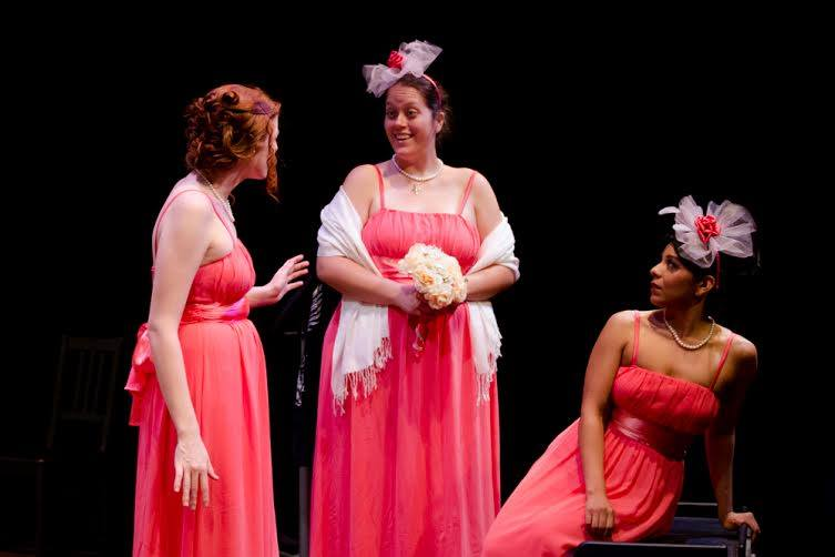 Five Women Wearing the Same Dress -  Mildred's Umbrella Theatre Company - 2014