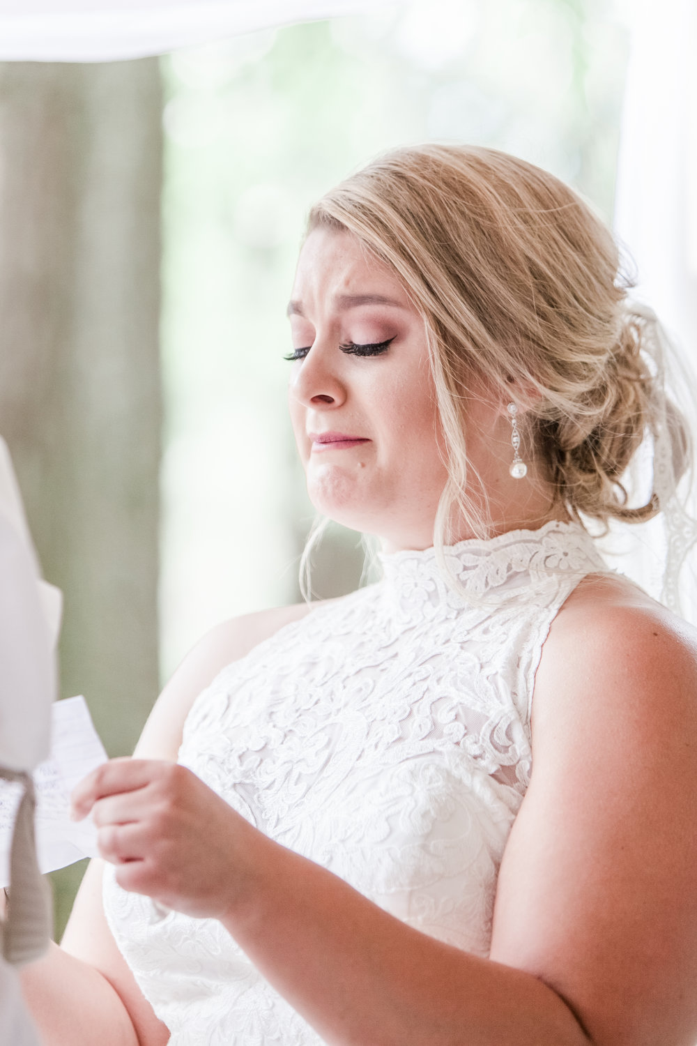 woodstock Georgia wedding bride emotional crying reading vows.jpg