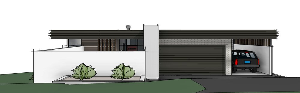 Single Dwelling   We can design your new home to any style you desire. Whether you have a floor plan you have already sketched up or need us to start from scratch, we aim to work closely with our clients to arrive at a design that meets the design brief, works with council guidelines and is able to be built.  We designed the above house for a local builder in Kiama. It is a corner site on a steep slope. There are ocean views to the rear and escarpment views to the side. With all these constraints and opportunities we successfully produced a design that works with the steep slope and takes in all possible views. The client was very happy with the outcome and is building his dream home now.