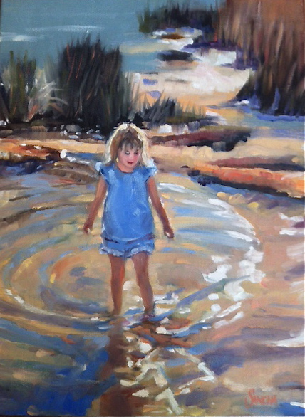Wading in the Shallows (SOLD)