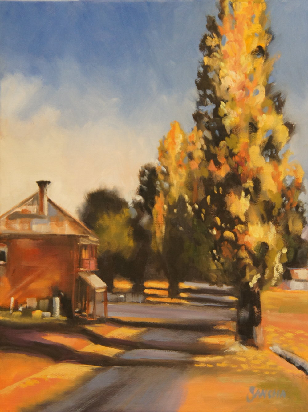 Autumn Time - Hill End (SOLD)