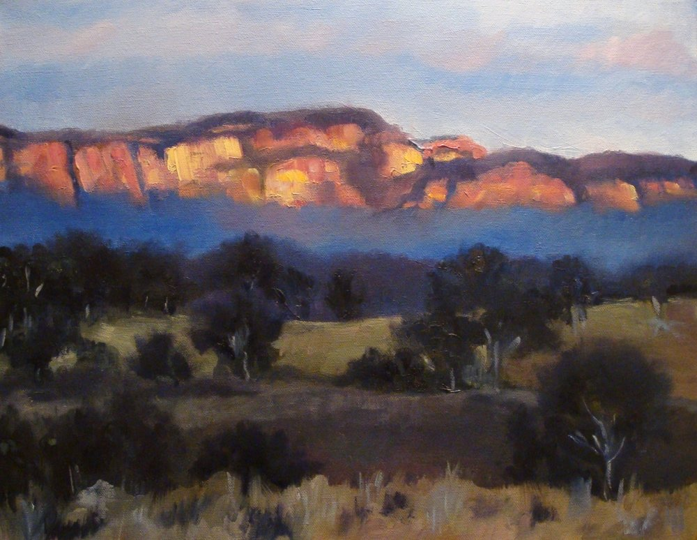 Afternoon Light - Capertee Valley