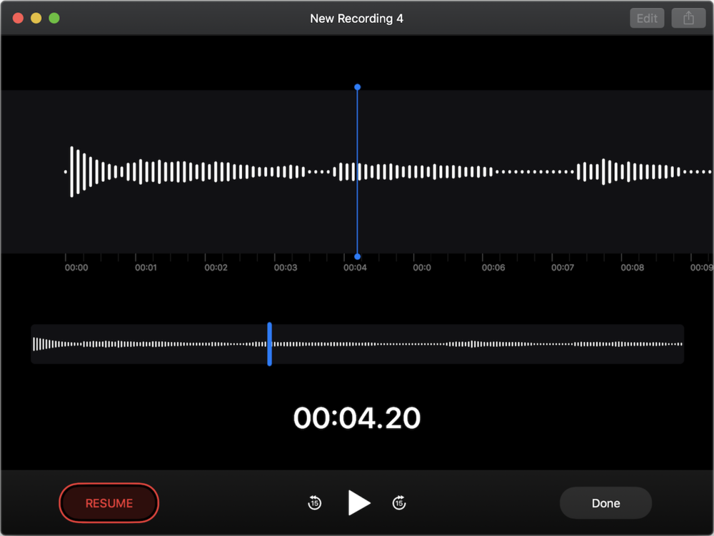 Voice Memos isn't yet fully functional but promises to bring your iOS recordings to the Mac (and vice versa).