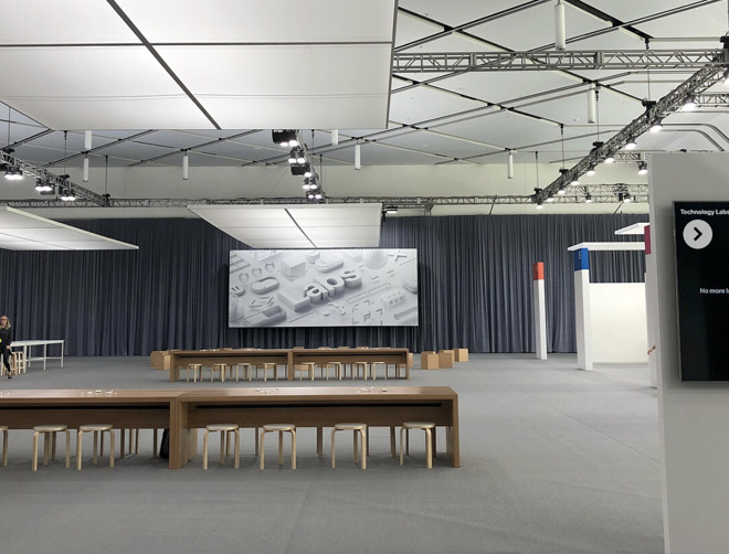 WWDC18 Labs, before things got busy