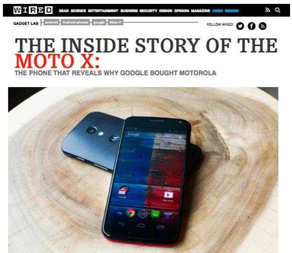 Pundits ignored Apple's Services to blow hot air for Motorola's.