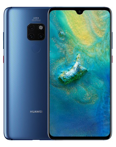 Huawei's Mate 20 has a sort-of notch without anything like TrueDepth, for $172 more than iPhone XR.