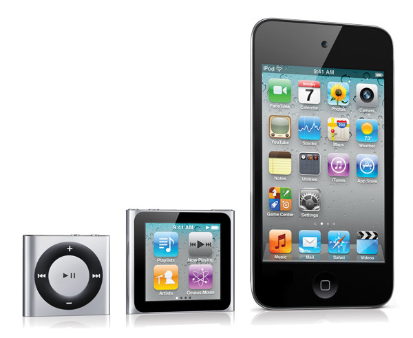 Apple's iPods in 2011