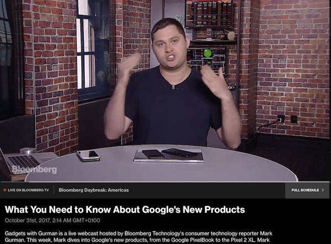 Bloomberg provided disproportionate, informercial-like coverage of Google's Pixel products without any concern for how well they were selling