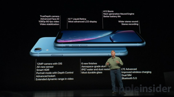 iPhone XR was purposely designed to make Apple's latest technolgoies broadly affordable