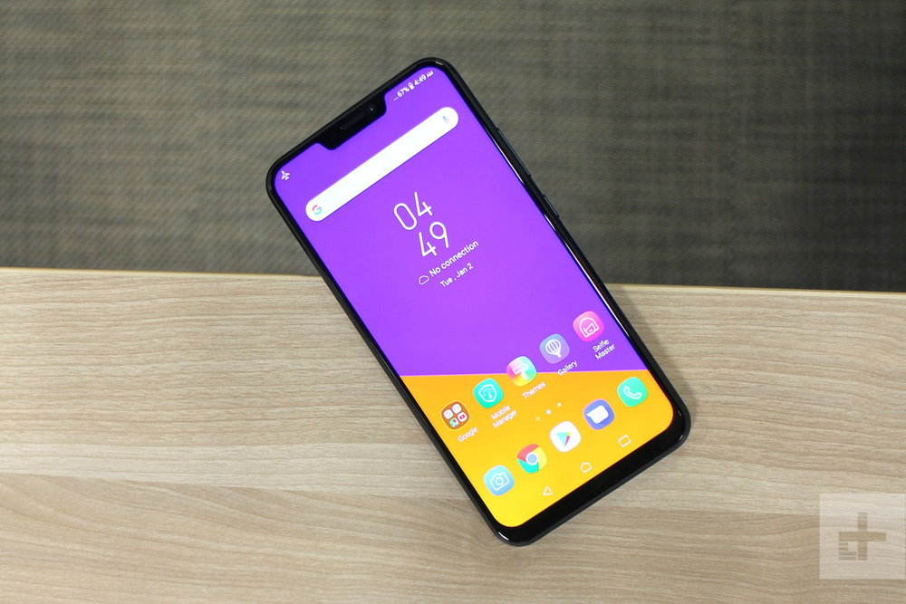"Asus Zenfone 5 ""takes some pretty heavy design cues from the iPhone X"""