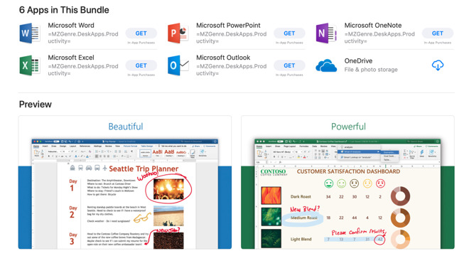 Microsoft's Office 365 is now an App Store subscription