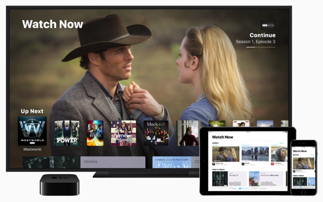Apple TV, TV App, and its iOS mobile TVs