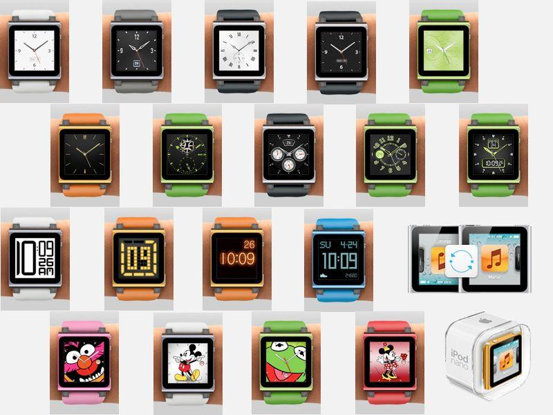 In 2011, Apple was overtly selling iPod nano as a watch