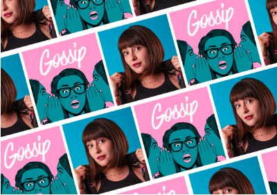 MEET THE JEWISH COMEDIAN WHO CREATED A PODCAST ALL ABOUT GOSSIP -