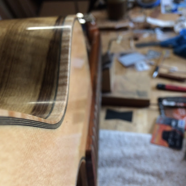 guitar binding and purfling
