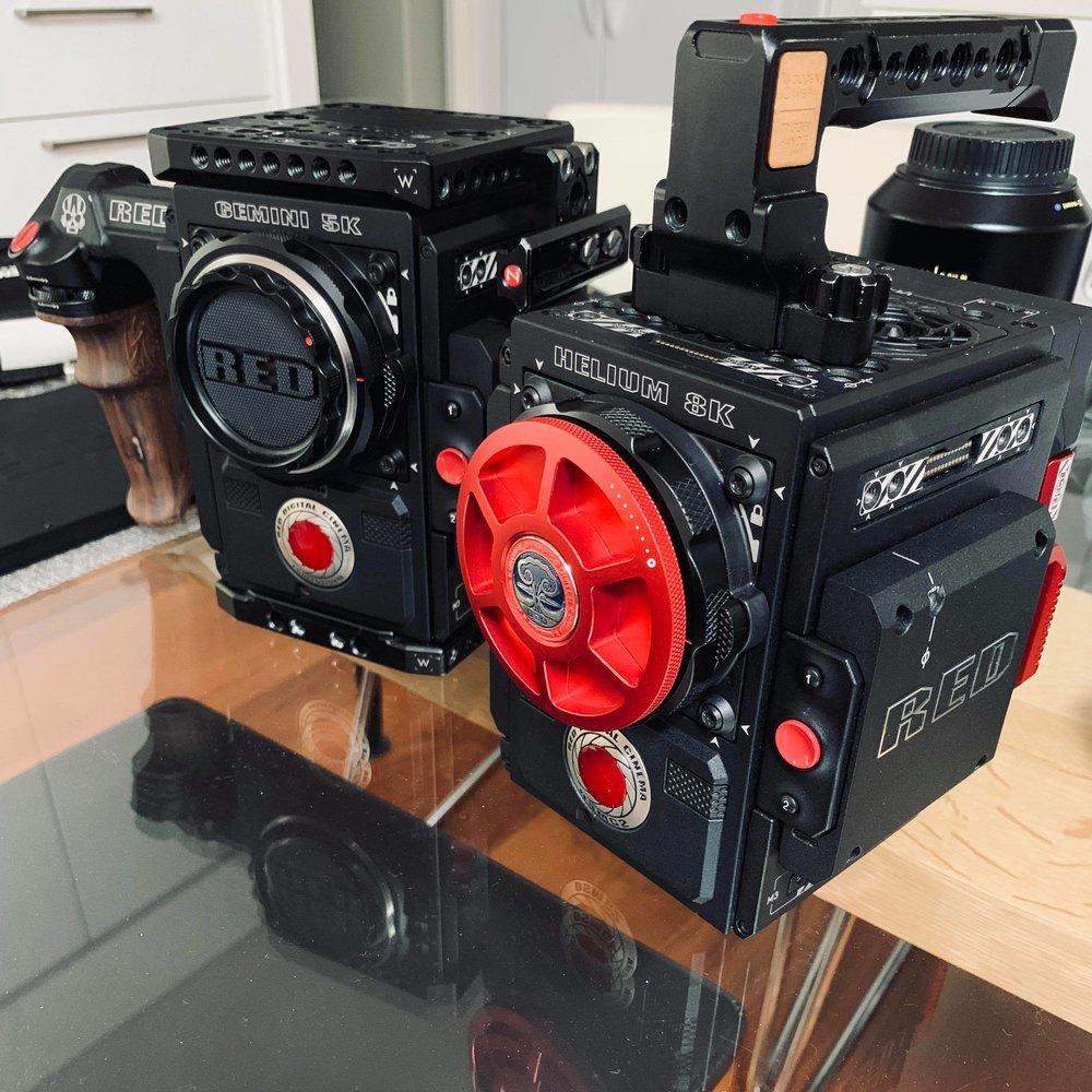 RED HELIUM 8K + RED GEMINI 5K